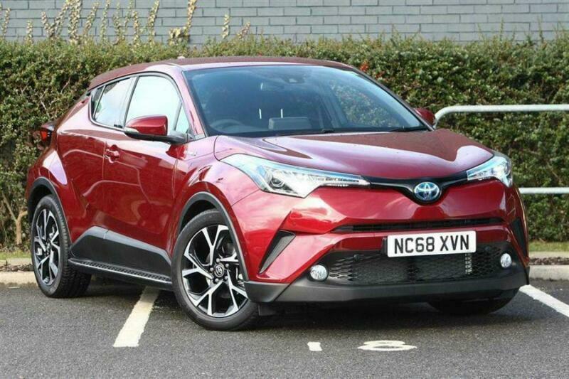 2019 Toyota C Hr 1 8 Hybrid Design 5dr Cvt Petrol Electric Hybrid Red Automatic In Durham County Durham Gumtree