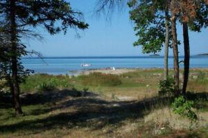 Waterfront Cabin Lake Huron