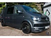 2016 16 VW Transporter 2.0Tdi T6 T32 140PS DSG Highline BMT Sportline Pack