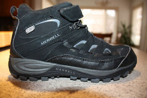 Youth Mid Lace Waterproof Merrell Hikers