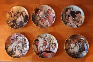 Three Stooges Plate collection