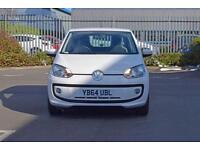 2014 VOLKSWAGEN UP Volkswagen Up 1.0 High Up 3dr [Portable Navigation]