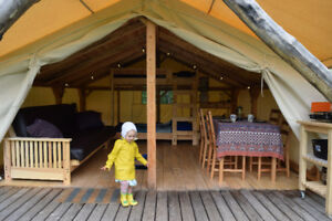 Cabin Tents at Wild Woods Hideaway