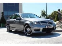 2011 11 MERCEDES-BENZ C CLASS C220 CDI BLUEEFFICIENCY SPORT 2.1 4D AUTO C63 AMG
