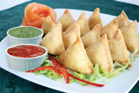FRESH Home-made SAMOSAs for Events and Occasions - FREE DELIVERY
