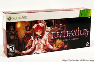 Deathsmiles xbox 360 limited edition sealed