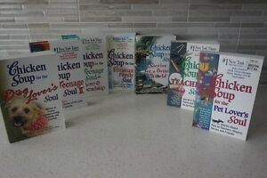 "17 ""CHICKEN SOUP FOR THE---"" BOOKS~$6.99 EACH~SMOKE FREE"