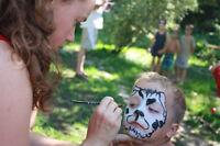 Maquilleuse et animation thématique princesse fête d'enfants