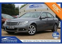 2012 61 MERCEDES-BENZ C-CLASS 2.1 C220 CDI BLUEEFFICIENCY SE 4D 168 BHP DIESEL