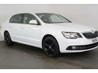 2014 64 SKODA SUPERB 2.0 BLACK EDITION TDI CR 5D 138 BHP DIESEL