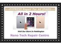 Repair IPad 2, 3, 4, mini, retina, Air 1, Touch Screen Digitizer And LCD Replacement