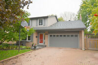 Rarely offered location - 4 bed, 3 bath Ancaster home!