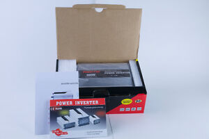 New 300W 110 AC Dual Power Inverter for Car/Truck/Boat/Outdoor