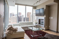 Furnished Penthouse level Executive Condo for Rent Downtown
