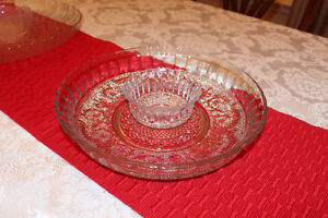 2-Piece Glass Serving Dish
