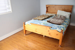 Queen bed frame in very good condition for sale!