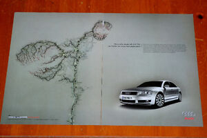 FRENCH 2004 AUDI A8 3.0 SEDAN AD - ANONCE VOITURE LUXE