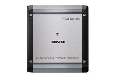 New Kenwood KAC-D3104 600 Watts 4-Channel Class D Car Audio Amplifier 75W X 4