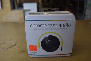 CHROMECAST AUDIO for Speakers
