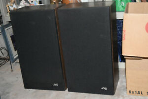 Jvc speakers Jvc Receiver and vhs player