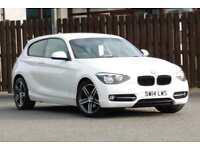 2014 BMW 1 SERIES 116I 1.6 SPORT 3DR HATCHBACK PETROL