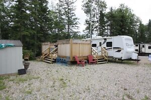 New Price! Lot & RV in Torch Light, Candle Lake!