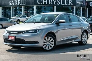 2016 Chrysler 200 ***LX MODEL***4 CYLINDER***LOW LOW KM***