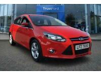 2012 Ford Focus 1.0 EcoBoost Zetec 5dr **Rear Parking Sensors** Manual Hatchback