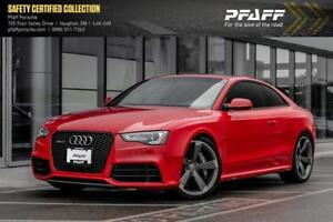 2013 Audi RS 5 4.2 S tronic qtro Coupe - LOW KMS, CLEAN CARFAX!