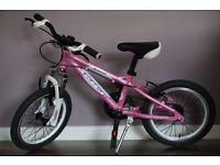 "16"" Carrera Girls Bike-lightweight, superior quality. RRP £199"