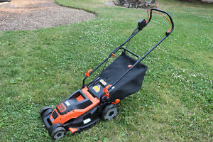 Black and Decker Electric Push Lawn Mower