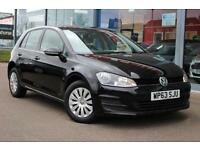 2014 VOLKSWAGEN GOLF 1.6 TDI 105 S GBP0 TAX, B TOOTH and DAB