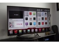 """42"""" LG LED smart WiFi built in full HD freeview built in"""