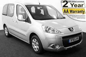 2010(10) PEUGEOT PARTNER 1.6 HDi S TEPEE LOW FLOOR WHEELCHAIR ACCESSIBLE VEHICLE