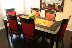 FS: Bermex Dining Table with 6 chairs from Ormes Furniture