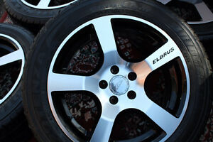 EOM TOYOTA COROLLA 2015 ALLOY RIMS with 205/55/16 TIRES