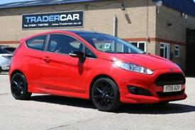 2015 15 FORD FIESTA 1.0 ZETEC S RED EDITION 3D 139 BHP