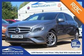 2013 13 MERCEDES-BENZ A CLASS 1.6 A200 BLUEEFFICIENCY SPORT 5D AUTO 156 BHP