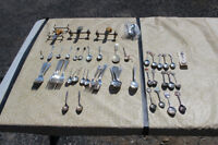 Lot of various silverplate & collectable spoons and silverware