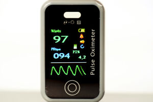 Fingertip Pulse Oximeter SPO2/Heart Rate/ Perfusion Index USB