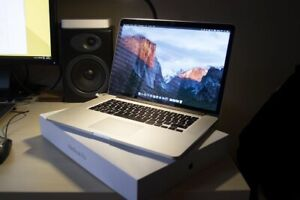 """Excellent Macbook Pro 15"""" 512GB 16GB Radeon M370X & Force Touch"""