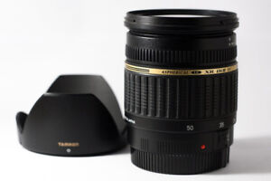 Tamron 17-50mm f2.8 for Canon Mount (Like New)