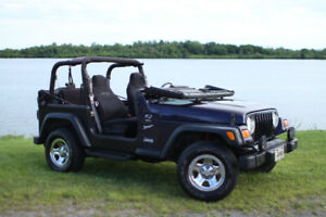JEEP TJ 1999 2.5 L in excellent condition+ extra parts