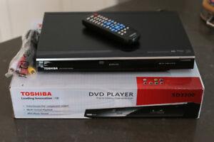 Toshiba DVD Player SD3300
