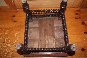Old Antique Foot Stool London Ontario image 7