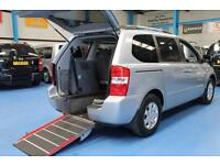 Kia Sedona 2 Auto 2.2CRDi Automatic wheelchair accessible vehicle mobility car