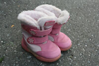 Girls Pink Cougar Winter Boots - Size 9
