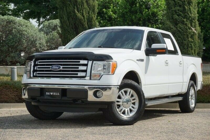 2013 Ford F-150, White Platinum Metallic Tri-Coat with 108646 Miles available no