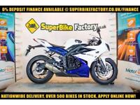 2014 64 TRIUMPH DAYTONA 675 ABS 675CC 0% DEPOSIT FINANCE AVAILABLE