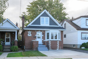 Newly renovated 3 bedroom unit in 2 story home available Nov 1
